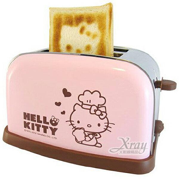 X射線【C165264】Kitty烤麵包機(粉.愛心),烹飪/早餐/廚房用品/OT-526