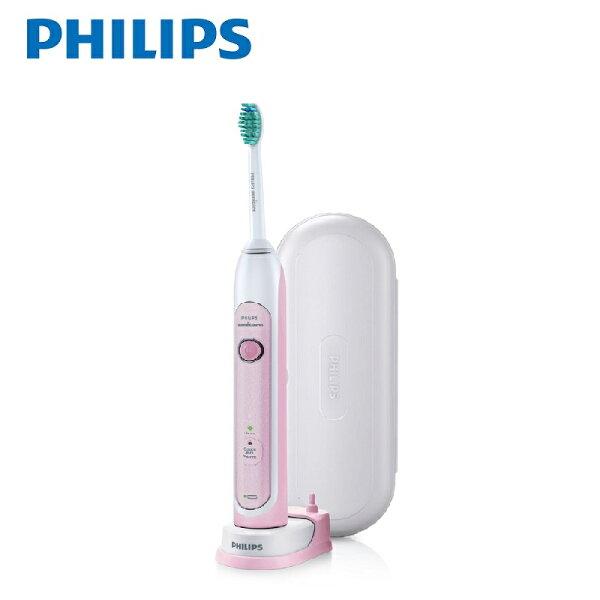 飛利浦PHILIPS健康美白音波震動牙刷(HX6761)