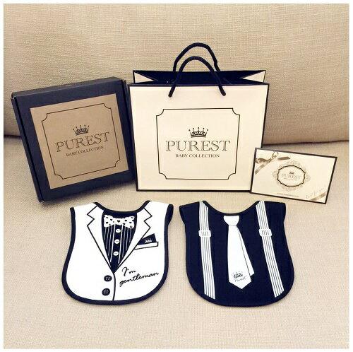 PUREST baby collection【怎樣兜很帥】禮盒組 (西裝+領帶) 2
