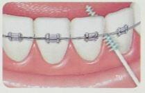 GUM SOFT PICK 軟式牙間牙籤清潔棒 240p*『康森銀髮生活館』無障礙輔具專賣店 1