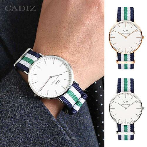 【Cadiz】瑞典DW手錶Daniel Wellington 0108DW玫瑰金 0208DW銀 Nottingham 40mm [代購/ 現貨] - 限時優惠好康折扣
