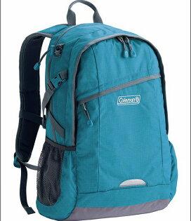 【騷包館】【Coleman】美國戶外品牌 休閒實用後背包 藍 CM-B450JM0BL