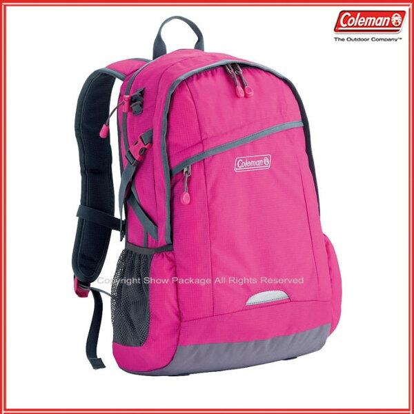 預訂【騷包館】【Coleman】美國戶外品牌 休閒實用後背包 25L 粉紅 CM-B450JM0PK