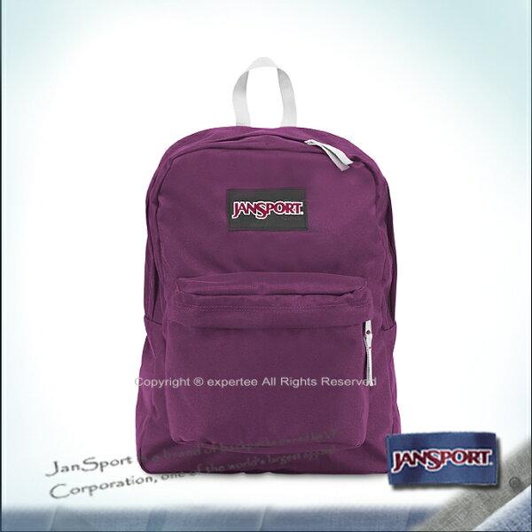 【騷包館】JANSPORT專櫃 輕型校園後背包 神祕紫 JS-43501J9ZI