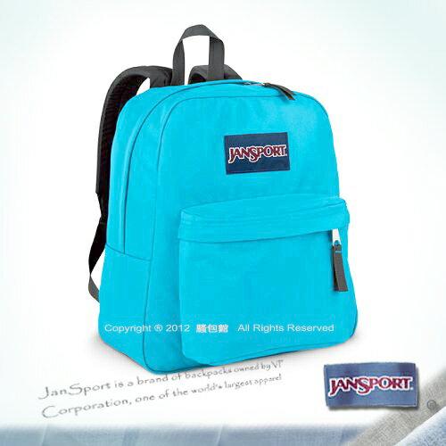 請詢問庫存【騷包館】JANSPORT專櫃 小版輕型校園後背包 冰原藍JS-43911J9RW