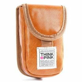 THINK PINK☆ 潮流型男專櫃品牌-酷酷風-手機掛抅包(亮眼黃)