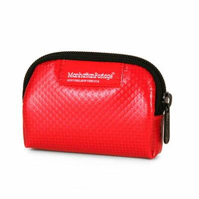 【騷包館】Manhattan Portage曼哈頓 亮皮零錢包 紅色  MP1008-VL-RD
