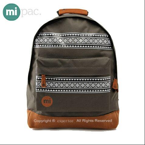 【騷包館】【mi pac】英國時尚 北歐系列 民俗圖騰後背包==綠色 MIPAC-B02-3G