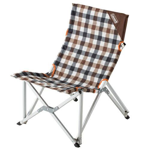 【鄉野情戶外專業】 Coleman |美國|  棕格紋樂活椅/休閒椅 折疊椅 摺疊椅 導演椅 野營椅/CM-26564M000