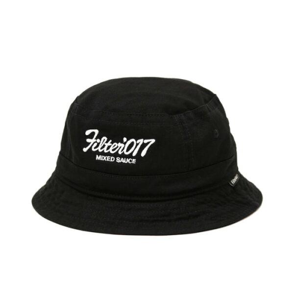 ►法西歐_桃園◄Filter017 Bucket Hat Vintage Logo 復古 字體 黑 漁夫帽 另有丹寧款