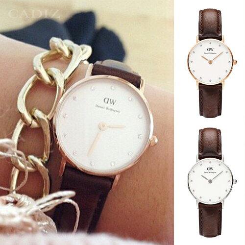 【Cadiz】瑞典DW手錶Daniel Wellington 0903DW玫瑰金 0923DW銀 Bristol 26mm