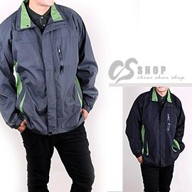 CS衣舖.3L-4L大尺碼 薄款 高機能防風外套 兩色 0238