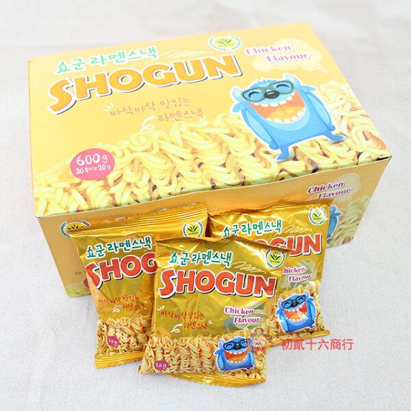 【0216零食會社】SHOGUN點心麵
