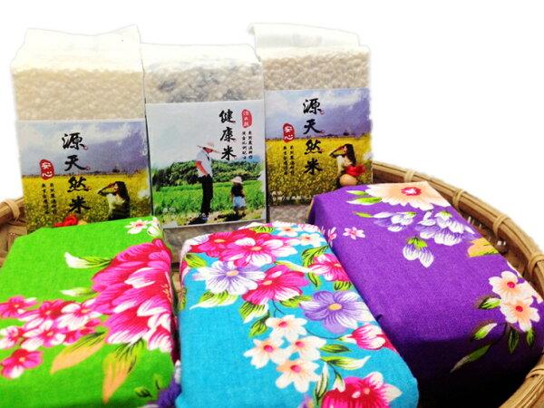 【源天然池上米】喜事稻禮包-胚芽糙米300g裝