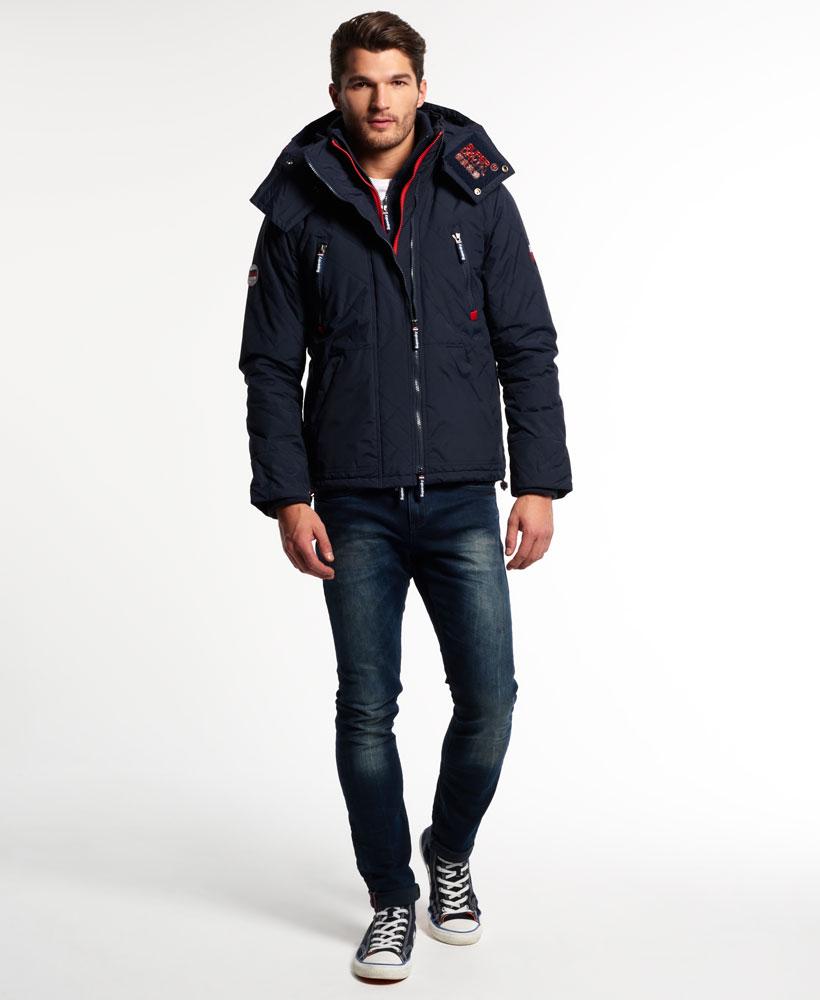 [男款]英國代購 極度乾燥 Superdry Wind Yachter 男士風衣戶外休閒外套 防水防風 海軍藍/紅色 2