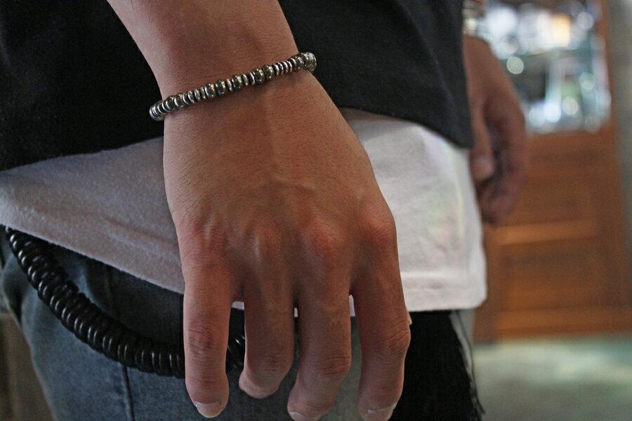 【現貨商品】【M.Cohen】聖光圓盤寶石手環(MC-B-103517-SLV-LAB 0976940000) 1