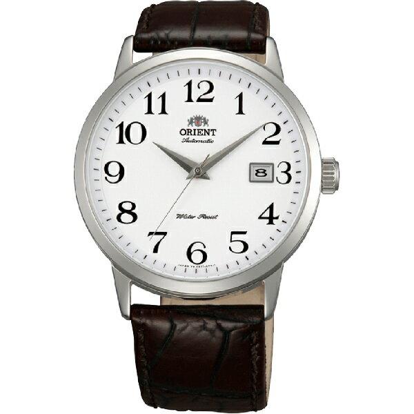 Orient 東方錶(FER27008W)古典美學簡約腕錶/白面44mm