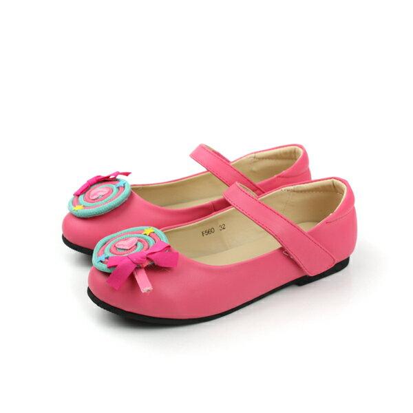 娃娃鞋 桃 童 no186