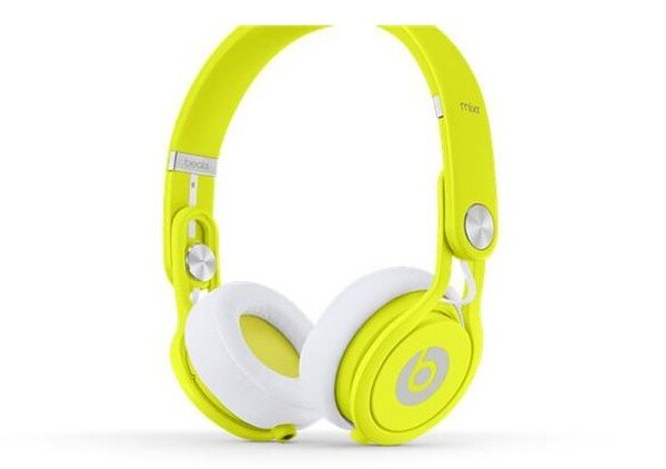 Beats by dr.dre Mixr  耳機 與 Monster David Guetta DJ聯名 螢光黃