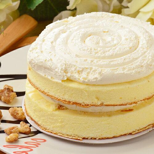 【乳酪二次方】經典核桃★超濃純的5吋奶香乳酪蛋糕-搭配超濃的生乳酪醬 2
