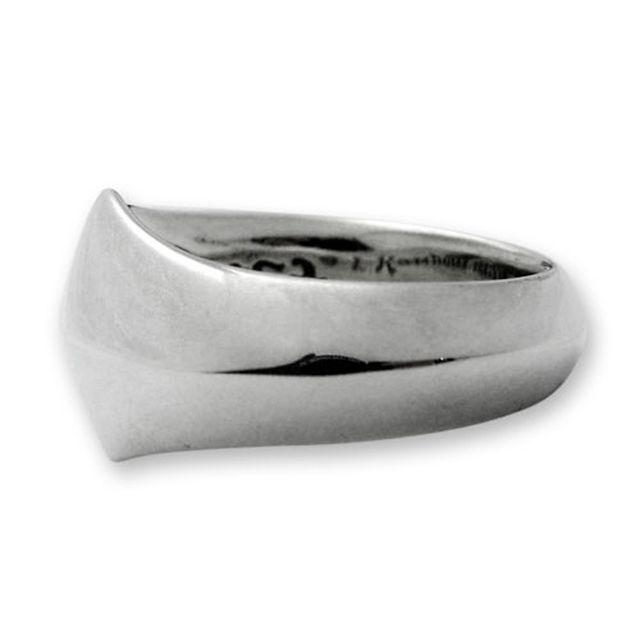 【海外訂購】【LONE ONES】極致光絨簡約純銀戒指 L (LKR004L) 2