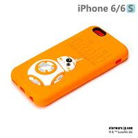 【日本 PGA-iJacket】正版 Starwars iPhone 6/6s 星際大戰 3D立體浮雕矽膠系列 - BB-8