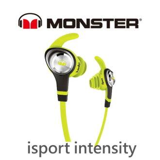 【MONSTER 魔聲】 iSport INTENSITY 耳塞式防水運動型耳機 ( 綠色 )