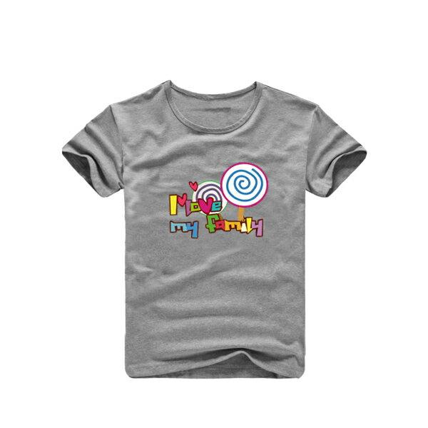 ◆快速出貨◆親子裝.客製化.T恤.班服.最佳情侶裝.親子裝.獨家款.純棉短T.MIT台灣製.班服.親子棒棒糖【YC116】可單買.艾咪E舖 1