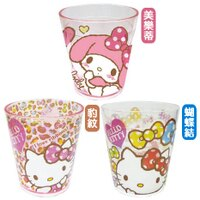 美樂蒂My Melody周邊商品推薦到日本三麗鷗Kitty/melody壓克力水杯