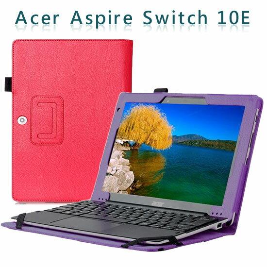 【斜立】宏碁 Acer Aspire Switch 10 E 平板專用 荔枝紋皮套/側掀展示保護套/帶筆插(型號SW3-013-166D)