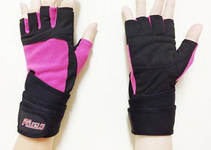 ~Fitek 健身網~女用舉重手套~透氣舒適 女版 舉重手套 健身手套 自行車手套  手套