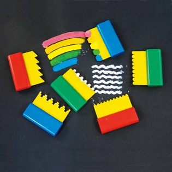 【華森葳兒童教玩具】美育教具系列-線條刮刮板 L1-RE/634/SPT
