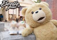 聖誕節禮物推薦到BEETLE TED 2 熊麻吉 泰德 24吋 R級版 BAIT 娃娃 公仔 玩偶 聖誕禮物 泰迪熊 BEAR 發聲玩偶 FUN-13