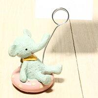愚人節 KUSO療癒整人玩具周邊商品推薦日本Everyday名片夾-淘氣救生圈大象「新品」