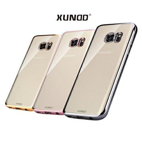 XUNDD爵士電鍍TPU套/SAMSUNG Galaxy S7/S7 Edge/手機殼/保護殼/背蓋 【馬尼行動通訊】