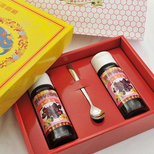 【御品長壽養蜂場】洛神花蜜酢*2罐裝    大自然蜂蜜/ (400毫升±3%/罐)