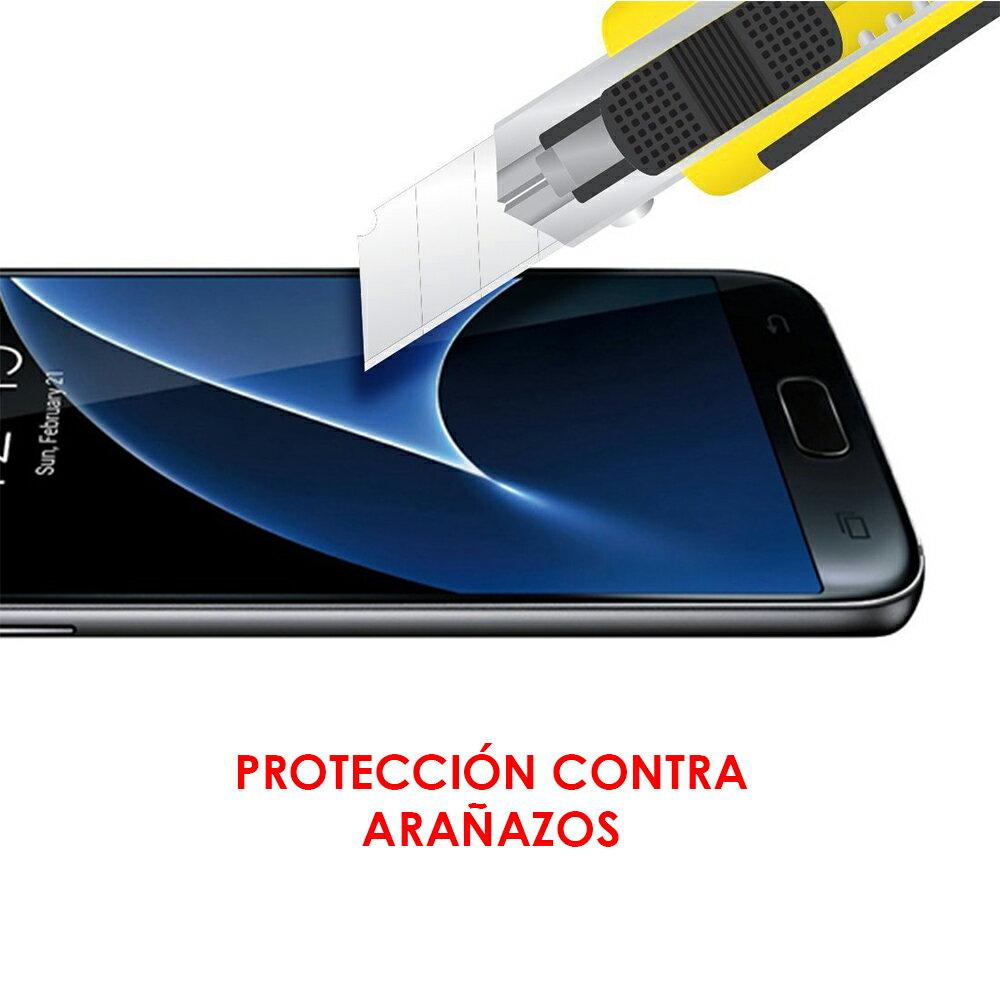PROTECTOR CRISTAL CURVO NEGRO SAMSUNG GALAXY S7 : PROTECCIÓN EXTREMA PANTALLA DE VIDRIO TEMPLADO PREMIUM 5