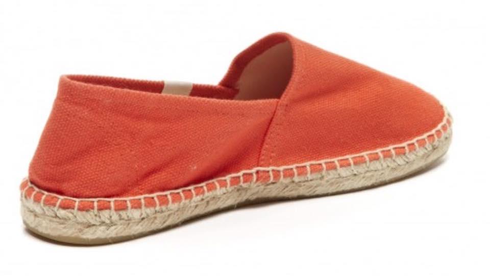 【Soludos】美國經典草編鞋-基本款草編鞋-橘 3