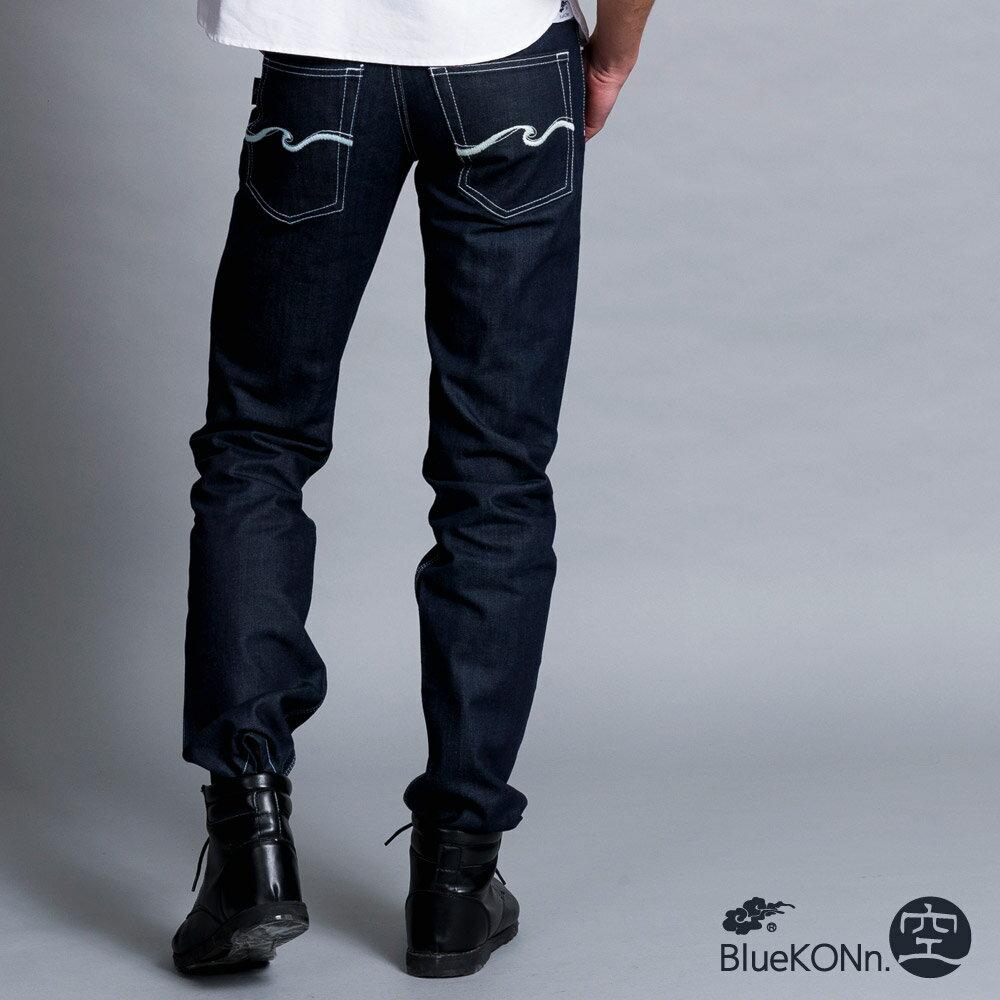 【BlueKONn.】新空低腰直筒褲 0