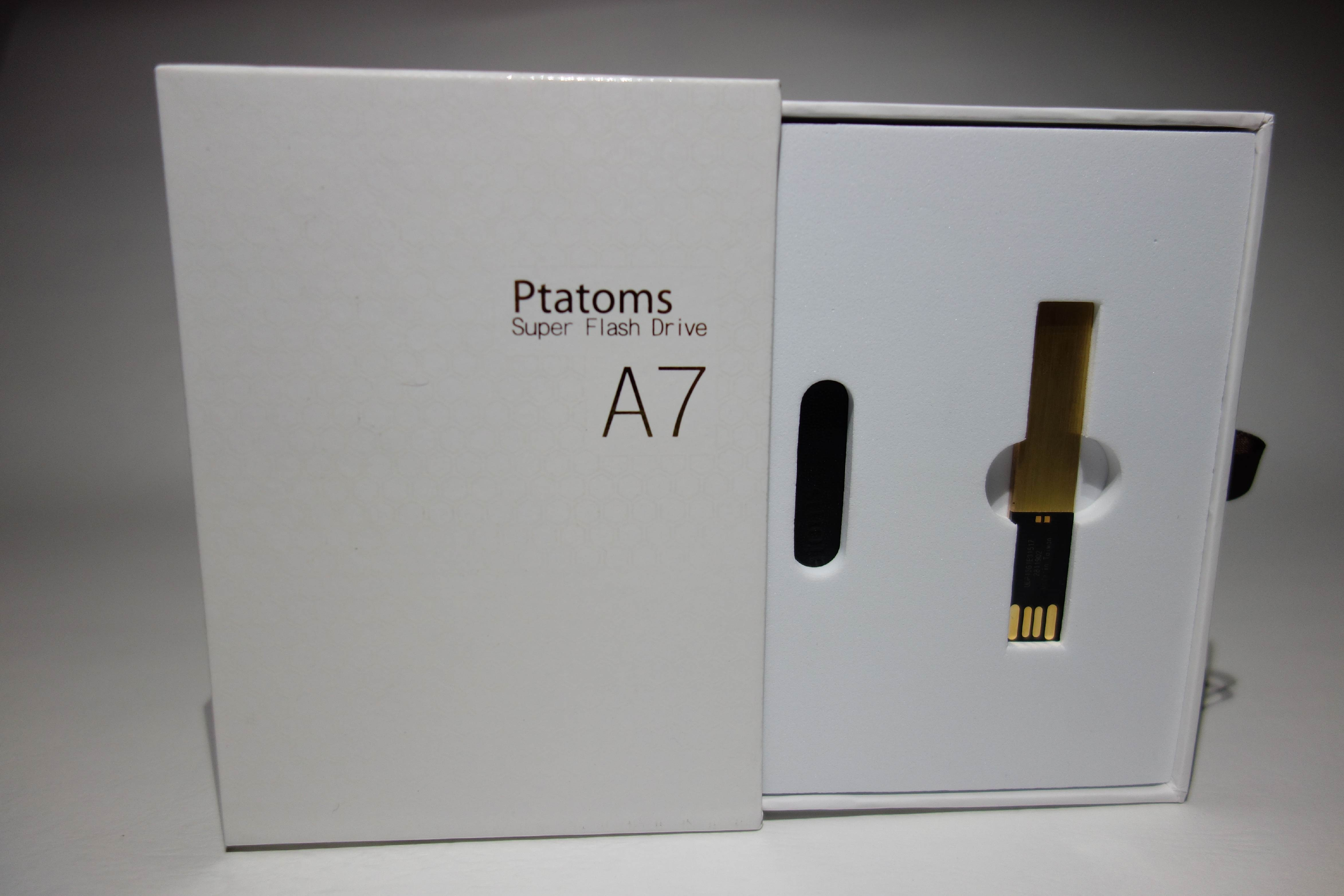 ELK-PTATOMS高品質金色USB隨身碟精美禮盒組16G(付黑色質感皮套) 0