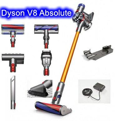 [建軍電器]現貨 超值版 最新Dyson V8 SV10 Absolute 雙主吸頭 效能優於V8 Fluffy+