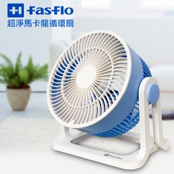 【佳醫】馬卡龍多彩六吋大風量迷你扇 HF-0601 ( 藍 )