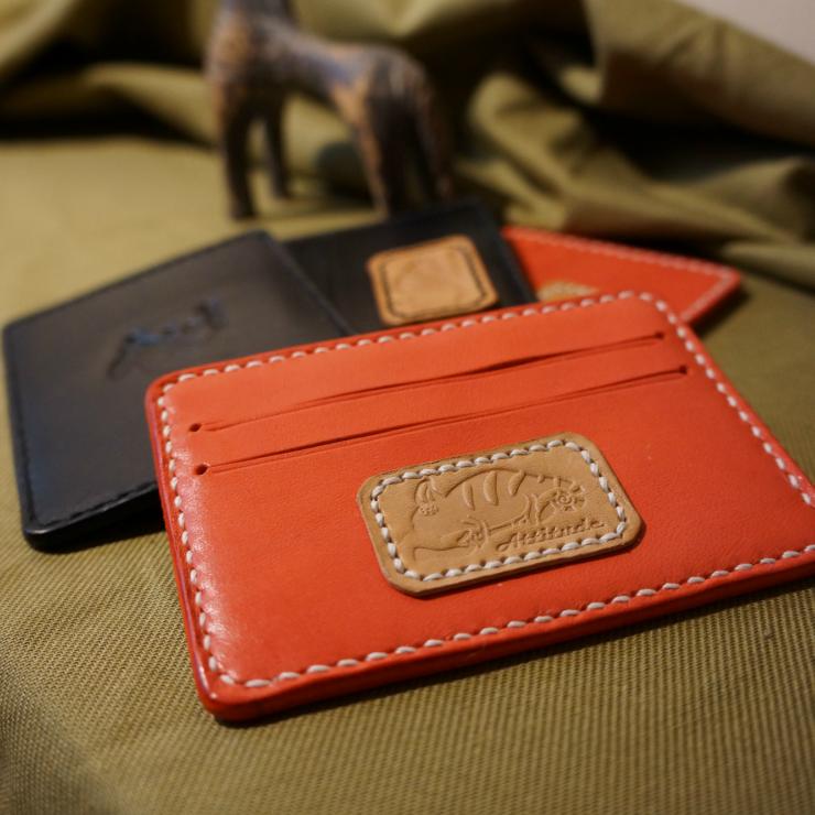 皮革薄型名片夾(變色龍系列)  紅色 - 限時優惠好康折扣