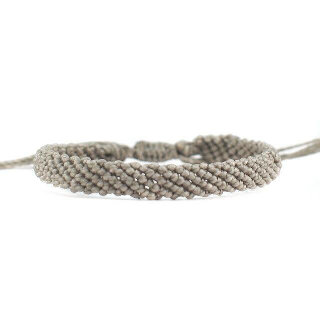 【現貨商品】【wakami】讚頌愛情灰色編織手環(WA0531-02  0678870000) 2