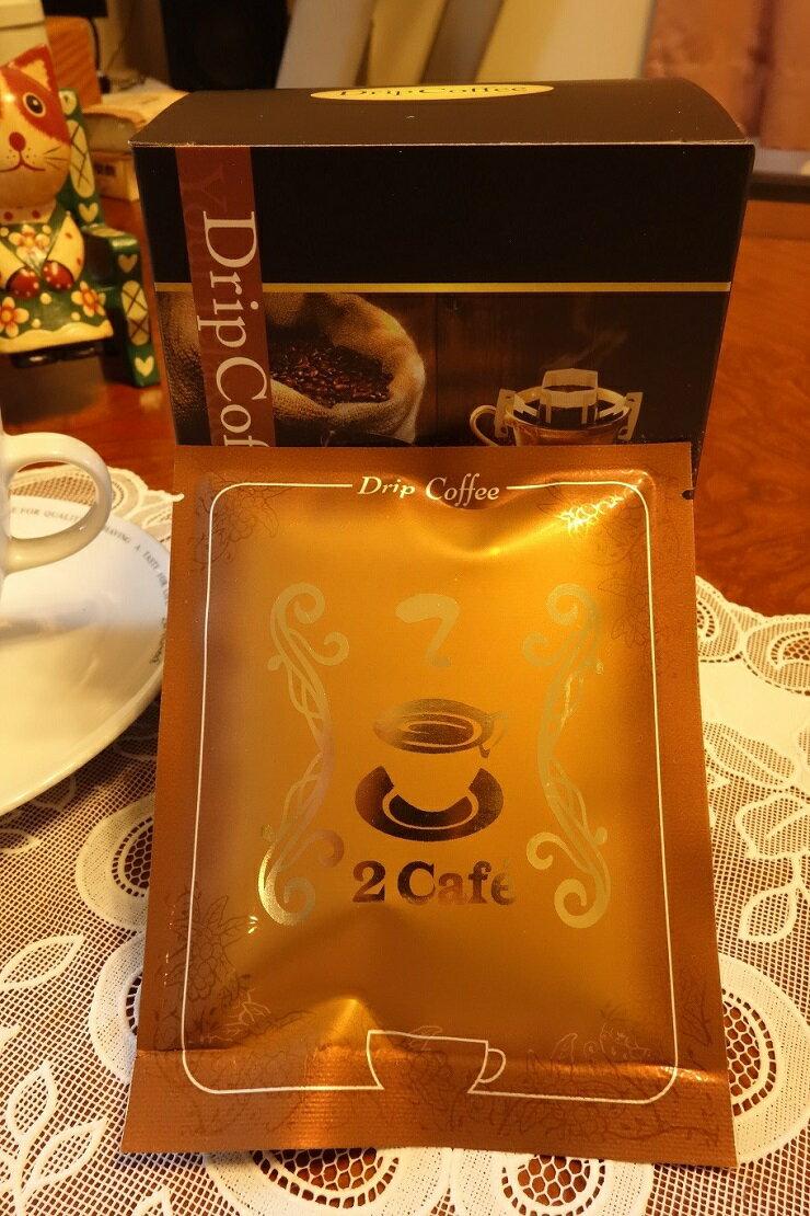 【二咖啡手感烘培館】晨曦舞山嵐_招牌綜合 耳掛式咖啡 一包十杯份 1
