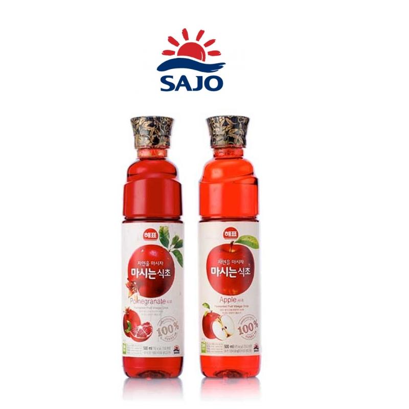 有樂町進口食品 韓國人氣水果醋 思潮水果醋500ml  蘋果醋 石榴醋 8801039916308 0