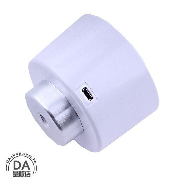 《DA量販店》韓國 usb 瓶蓋 水氧機 超靜音 負離子 加濕器 白色(80-0974)