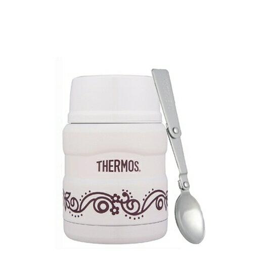 【安琪兒】日本【Thermos】高效能保溫食物罐-附匙(香草歐蕾) - 限時優惠好康折扣