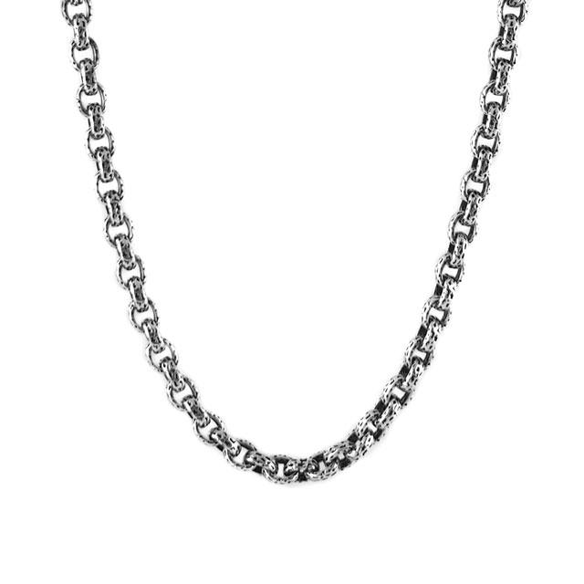 【現貨商品】【STARLINGEAR】烈火熊焰鎖鏈純銀長項鍊 50cm(STN024S-50  012223B500) 1
