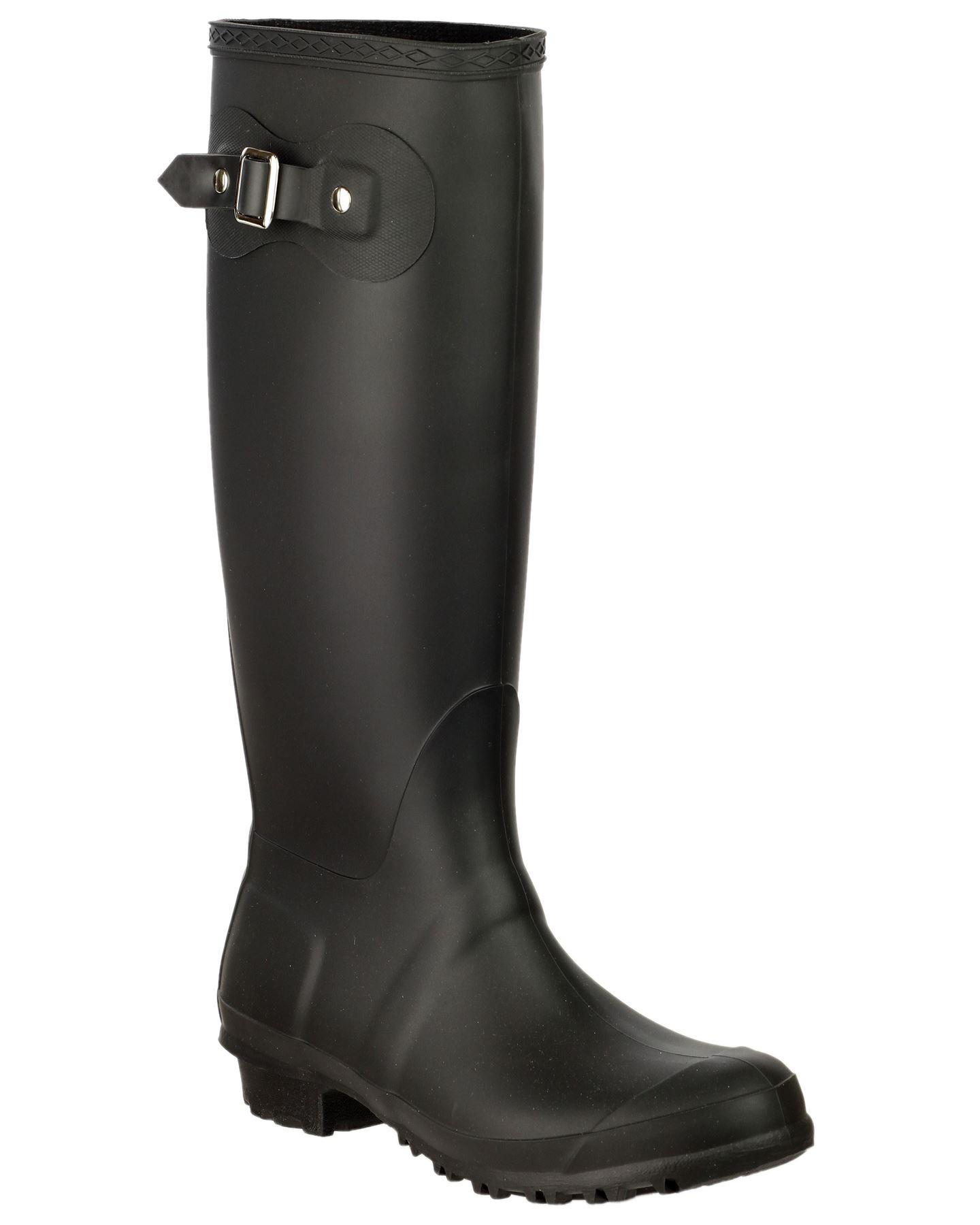 Cotswold Ladies Sandringham Buckle Up Wellingtons Boots PVC